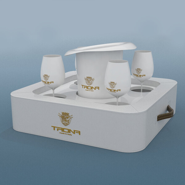 Tavolino – Vassoio galleggiante 40×40